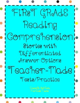 Year-Long Reading Comprehension 30 Passages/Stories