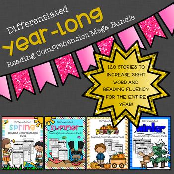 Year-Long Reading Comprehension Mega Bundle