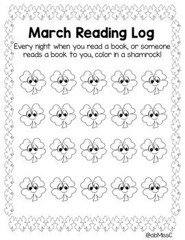 Year Long Reading Log Bundle