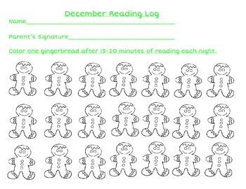 Year Long Reading Logs