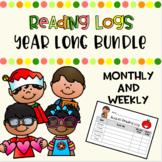 Year Long Reading Logs Bundle