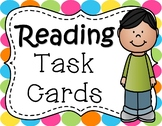 Reading Task Cards:  Reading Strategies to Enhance Comprehension