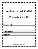A Better Way to Keep Track of Spelling: Spelling Booklet T