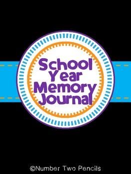 Year Long School Memory Journal