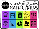 Year Long Second Grade Math Centers
