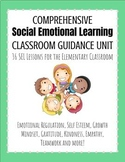 Year Long + Social Emotional SEL Classroom Guidance Curriculum