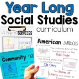 Year Long Social Studies Click-and-Print Bundle