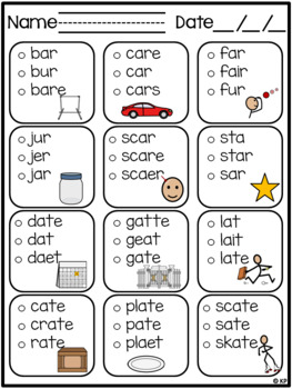 Year Long Spelling / Word Work Bundle for SpEd or RTI