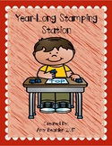 Year Long Stamping Station (Letters/Beginning Sounds/CVC Words)