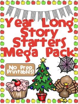 Year Long Story Starters Mega Pack