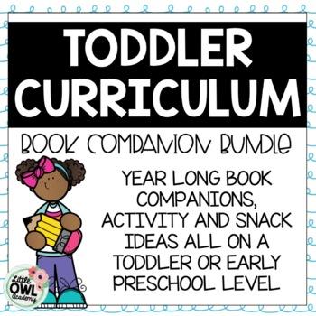 Year Long Toddler Curriculum MEGA Bundle!