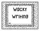 Year Long Wacky Journal Prompts