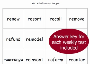 Year-Long Word Sort Spelling Lesson Plans: 5th Grade