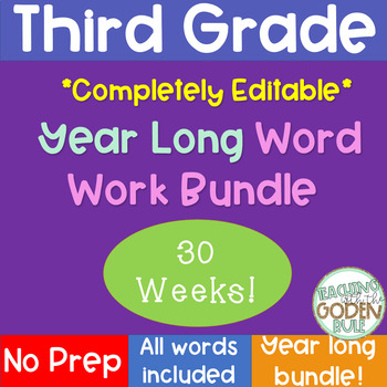 Word Study Bundle All Year!