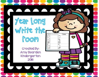 Year Long- Write the Room Station