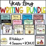 Year Long Writing Bundle for Holidays and Seasons