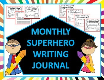 Year Long Writing Journal