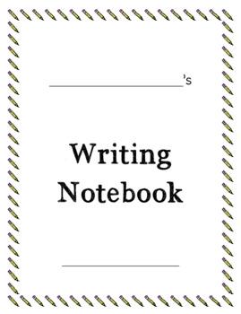 Year Long Writing Notebooks