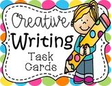 Creative Writing Task Cards:  Imaginative Writing Stemming