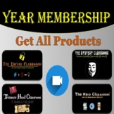 Year Membership: The Escape Classroom - Middle-High School