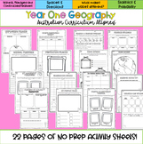 Year One Australian Curriculum Aligned Geography Pack