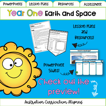 Year One Earth and Space Science - Australian Curriculum Aligned