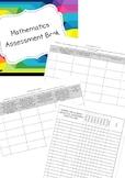 Year One Math Assessment Book
