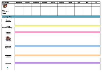 Year Plan Template