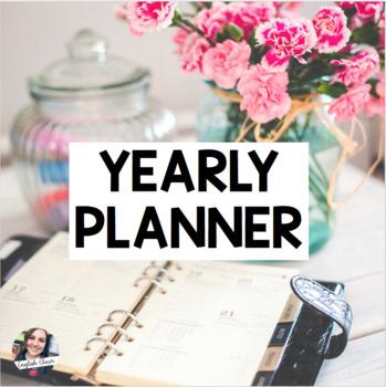 Year Planner - Help start your planning!