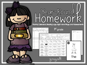 Year-Round 1st Grade Homework
