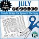 Year Round Articulation Puzzles - Savings Bundle