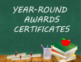 Year Round Awards Certificates Distance Learning