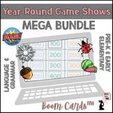 Year-Round BOOM Cards™ MEGA BUNDLE - Game Shows for Pre-K