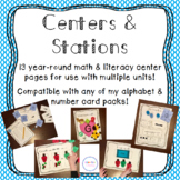 Year Round Centers and Stations
