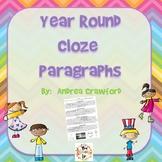 Year Round Cloze Paragraphs