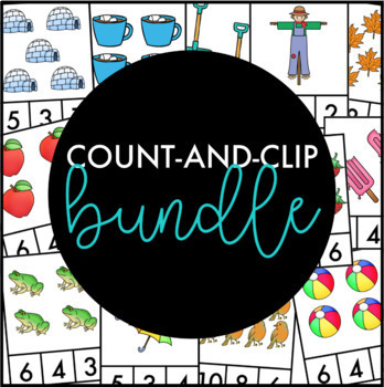 Year-Round Count and Clip Card Bundle Numbers 1-10