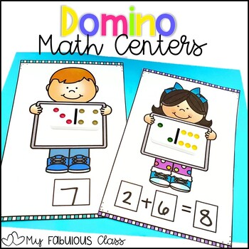 Math Centers with Dominos
