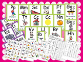 Year Round Spanish and English Word Walls and Phonics Cards