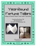 Year-Round Fortune Tellers {cootie catcher hand games}