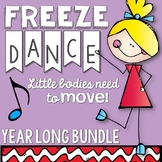 Brain Breaks - Year Round Freeze Dance Bundle
