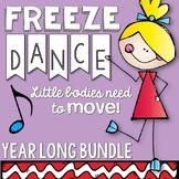 Brain Breaks - Year Round Freeze Dance Bundle