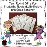 Student Reward Coupons: Good Behavior, Birthdays, and More
