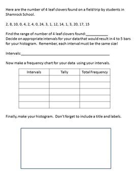 Year Round Holiday Histogram Bundle (Worksheets Only)