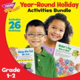 Year-Round Holiday-themed Language Skill Activity Workshee