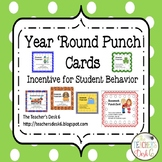 Year 'Round Homework Punch Cards