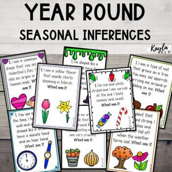 Year-Round Seasonal Inferencing {BUNDLE}