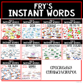 Year Round Instant Word Games