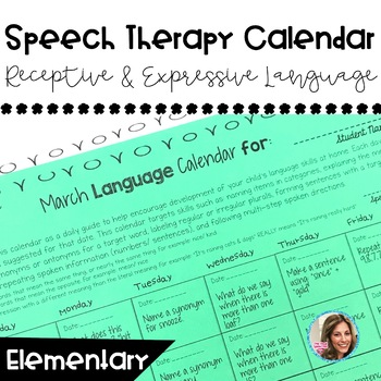 Language Calendar | Speech and Language Resources