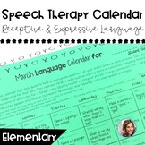 Language Calendar | Speech and Language Resources