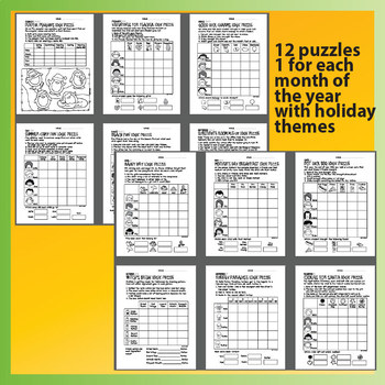 12 Year Round Logic Puzzles for Beginners